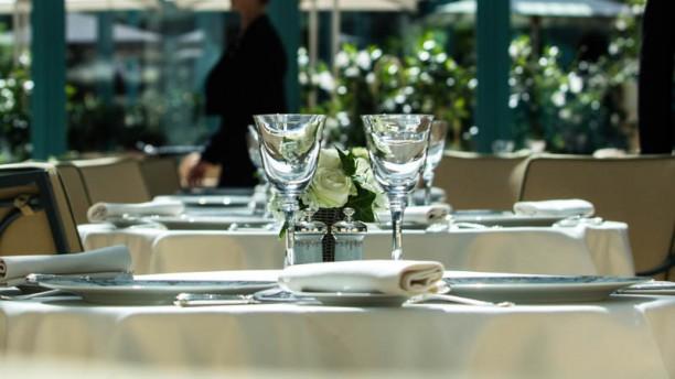 Les Jardins de L'Espadon - Ritz Paris Détail de la table