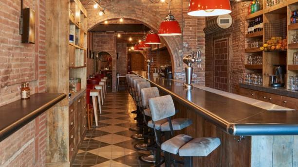 Chicken Shop & Dirty Burger Vista sala