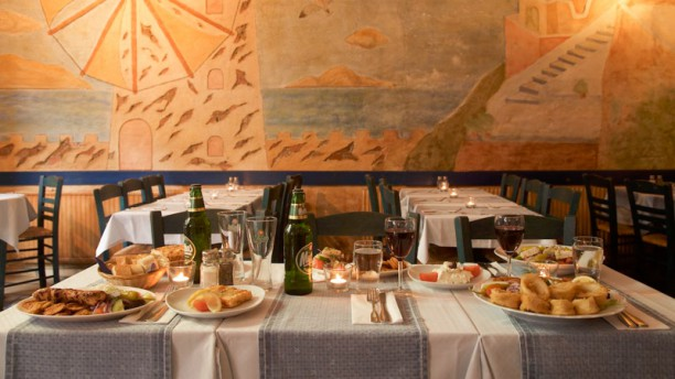 Taverna Mykonos mat