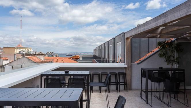 Esplanada - Mensagem - Restaurante e Bar Panorâmico, Lisboa