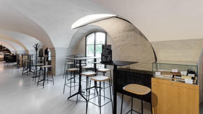 Vue de la salle - Boucherie Trolliet Grand Hotel Dieu, Lyon