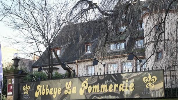 Abbaye de la Pommeraie : Le Prieuré façade