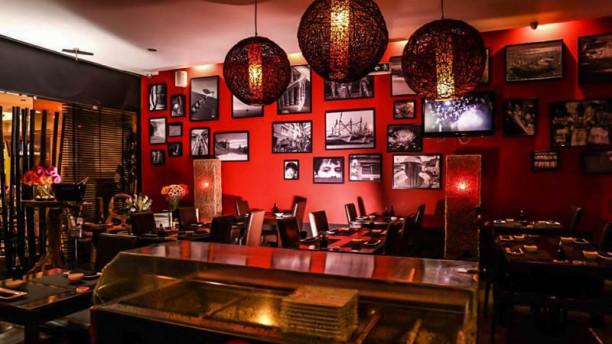 Sushi Toro Vista da sala