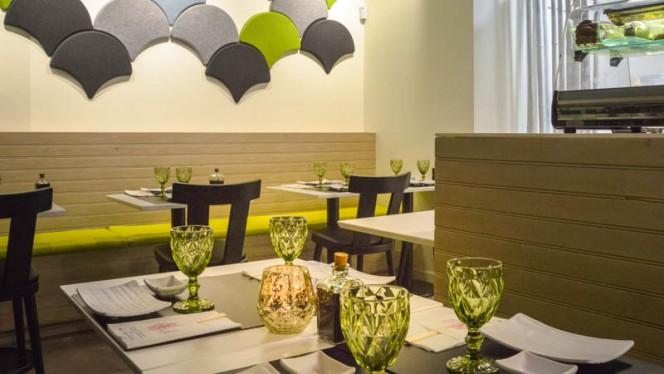 sala do restaurante - Edo Sushi Lumiar, Lisboa