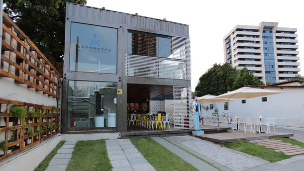 Restaurant vaporetto container bar recife avis menu et prix - Casa container prezzo ...
