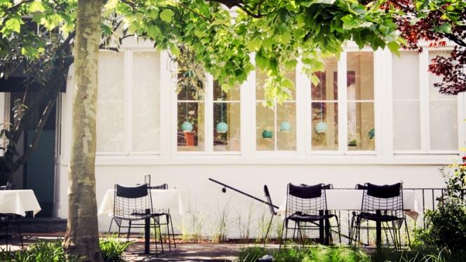 Vue de la terrasse - Bouchéry,