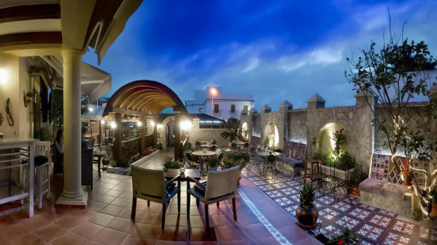 La Terraza Panoramica Nocturna Restaurante La Terraza