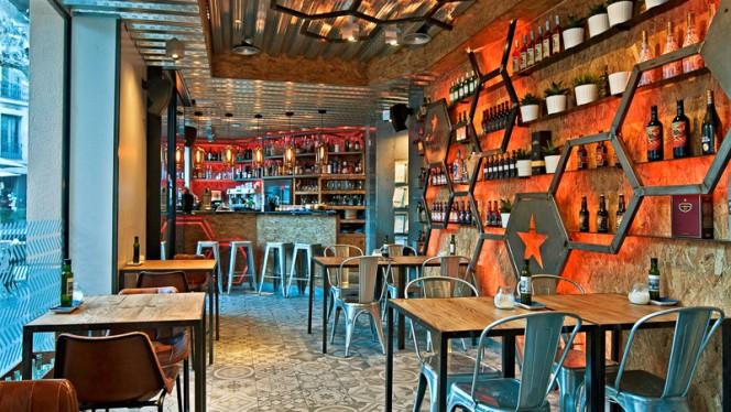 Vista sala - Lexi's Restaurant & Cocktail Bar, Barcelona