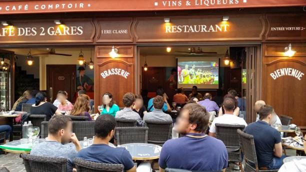 Café des 2 Gares Terrasse