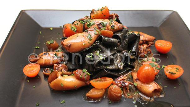 Gravin sugerencia pasta con mariscos