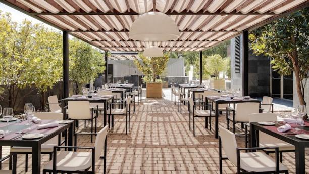 Laventae - Rafael Hoteles Forum Alcala La terraza