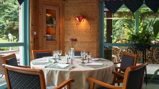 Le Chalet d'Eglantine - Hôtel Florimont Table dressée