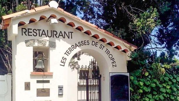 Les Terrasses de Saint-Tropez entrée du restaurant