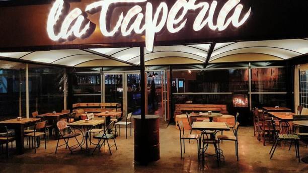 La Taperia Ibiza vista externa terraza