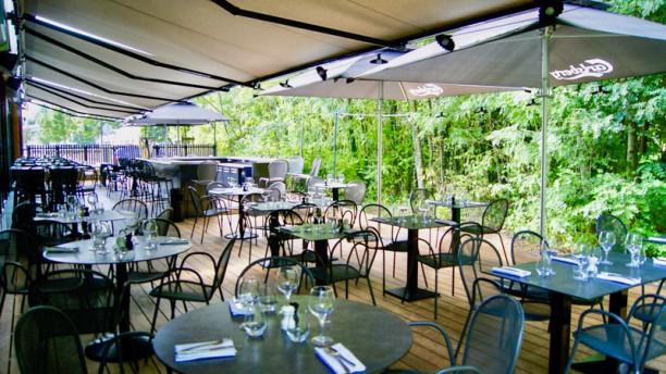 The Maze - Le Restaurant La terrasse ombragée