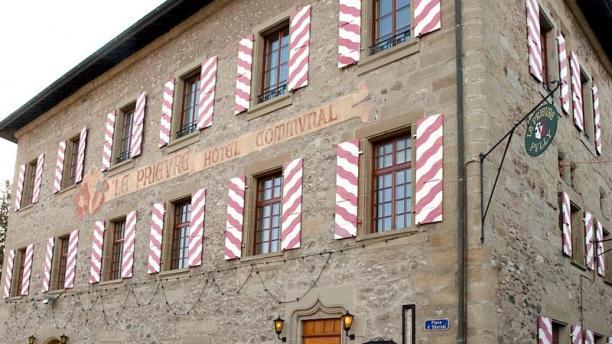 Restaurant du Prieuré Vue façade