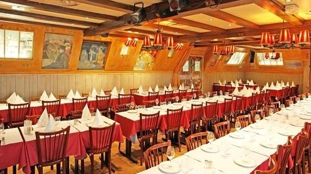 Restaurante la bonne franquette en paris men opiniones for Ensemble de salle a diner