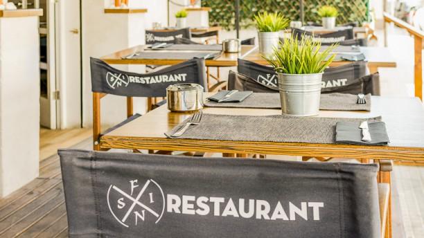 Fins Tapas & Cocktails Vista terraza