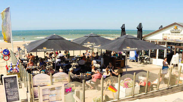 Strandpaviljoen Noordduine Ons zonnige terras!