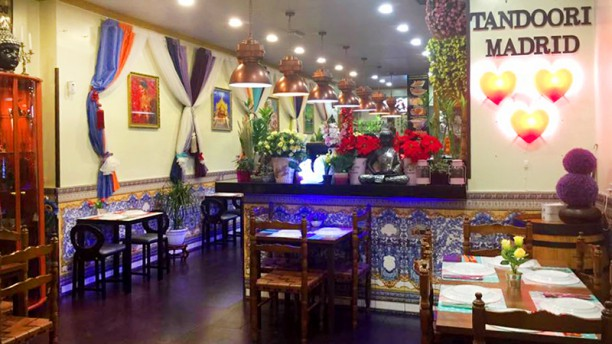 Tandoori Madrid Vista sala
