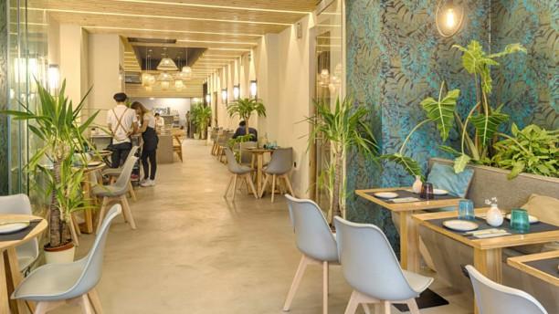Hunan Sala del restaurante