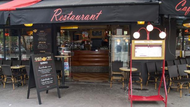 Pari'S Café Extérieur