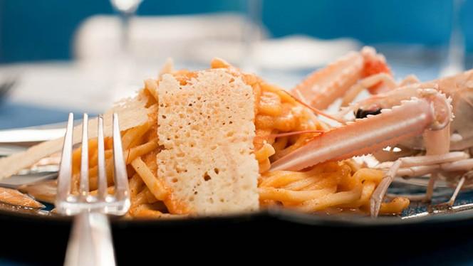 pasta con pesce - Pescheria Agraja, Rome