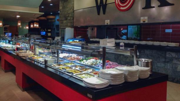 Restaurante wok garden ciudad de la imagen en pozuelo de for Sala 8 kinepolis