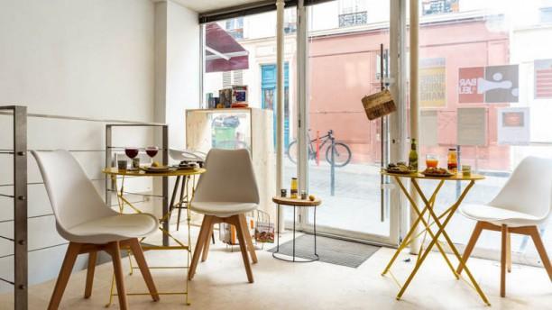Le Syrah Café Vue de la salle