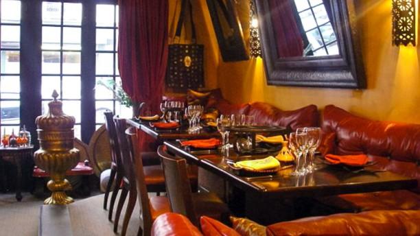 Villa Mimouna Salle du restaurant