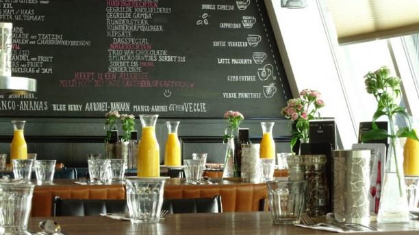 Grand Café De Bosbaan Het restaurant