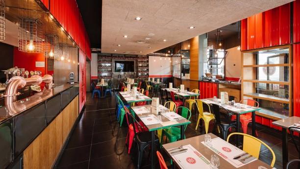 Restaurante pizza garage en como men opiniones for Costo del garage