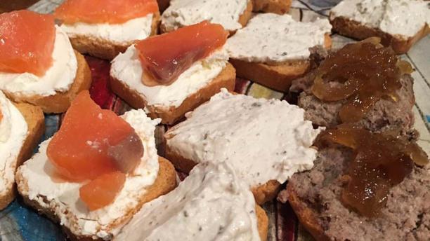 Vinos Chinchilla - Bodega Doña Felisa Sugerencia del chef tosta. De. Cerdo iberico