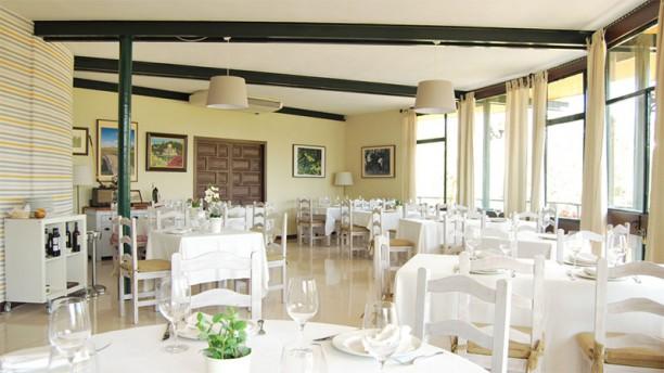 Candado club restaurante Vista sala