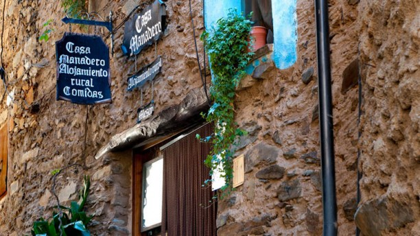 Casa Manadero Vista entrada