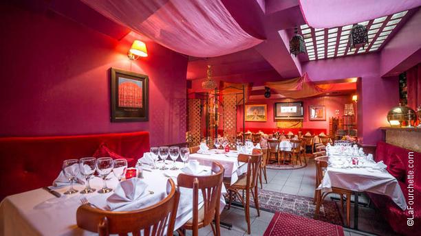 Jaipur café restaurant rue des messageries