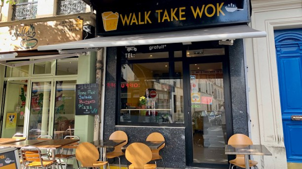 Walk Take Wok Terrasse