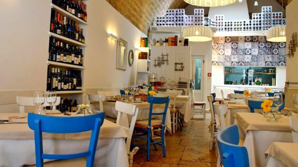 BIANCOFIORE Sala del ristorante
