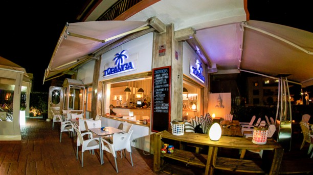 Topanga Club Vista terraza
