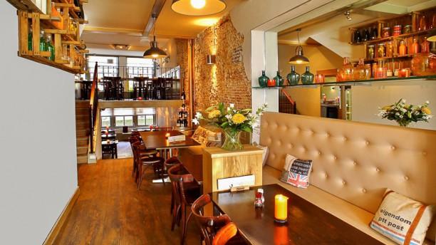 Willem van Oranje restaurantzaal