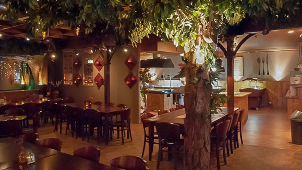 BBQ-Buffet Restaurant De Opschepper Het restaurant