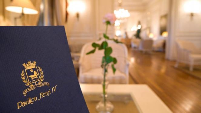Hôtel Restaurant Pavillon Henri IV - Restaurant - Saint-Germain-en-Laye