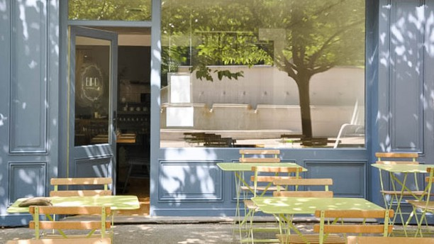 Bird Restaurant Terrasse