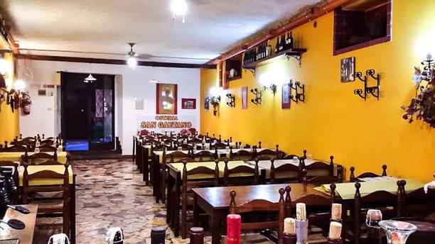 Osteria San Gaetano Vista sala