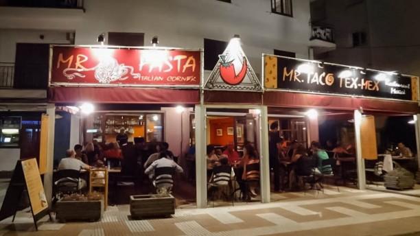 Mr. Taco Vista entrada