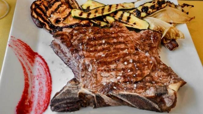 carne con verdure - Osteria Del Frate, Torino