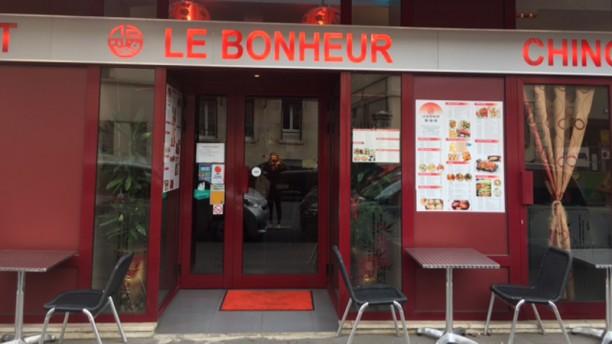 Le Bonheur Façade du restaurant