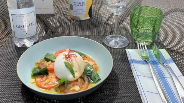 N' Café Mérignac Burrata crémeuse, tomates et basilic
