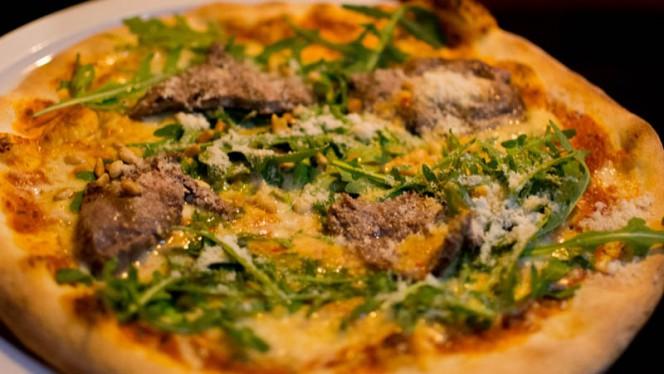 Pizza Carpacciata - Da Carlo, Groningen
