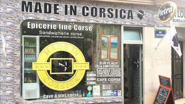 Made in Corsica Friedland Devanture du 8eme